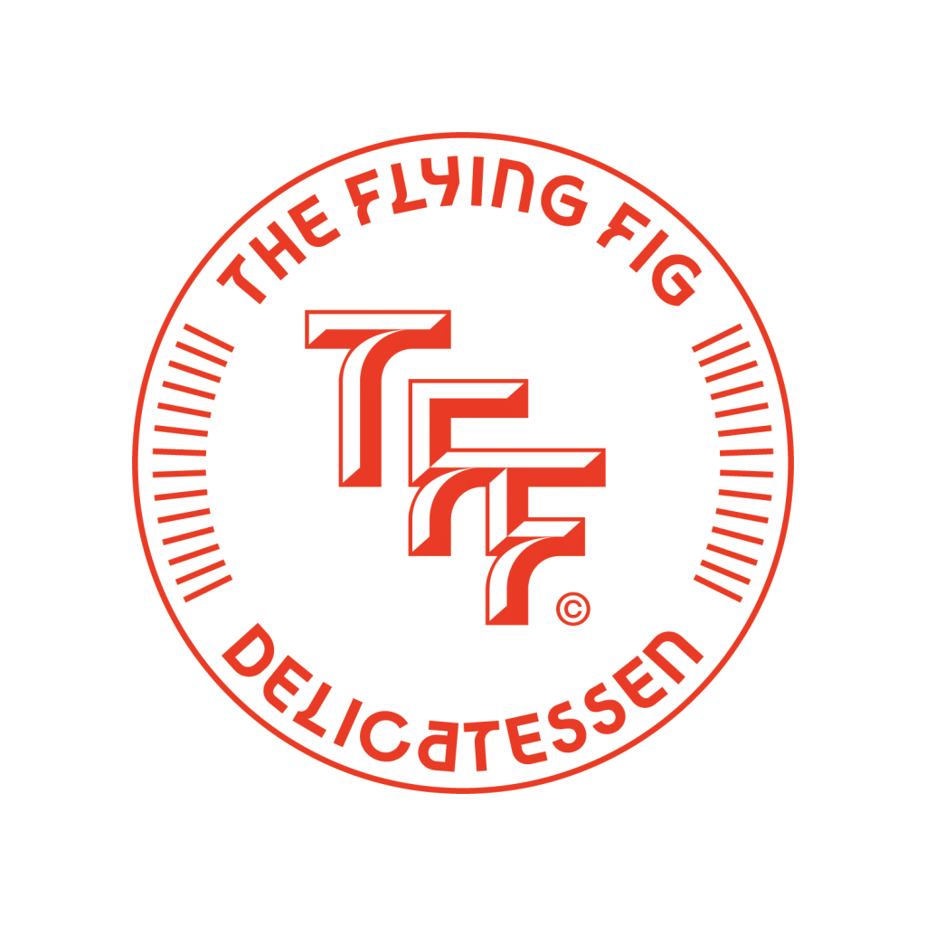 The Flying Fig Logo Full Logo