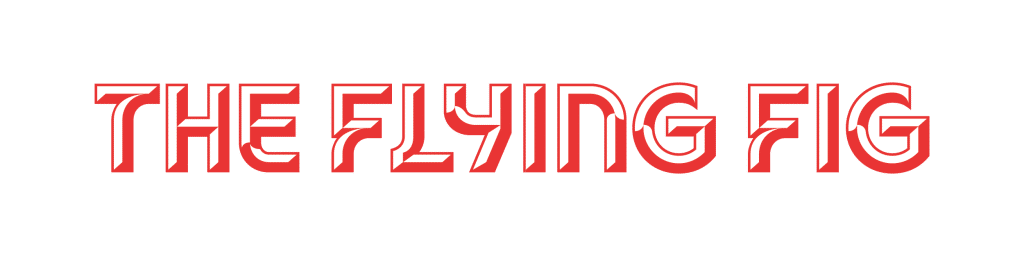 The Flying Fig Logo Horizontal Shading